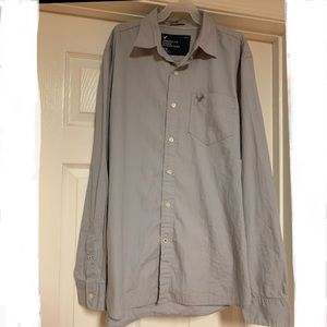 Men's American Eagle Athletic Fit Button Down